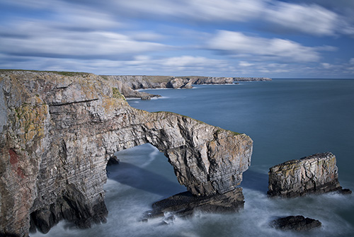 The Green Bridge Of Wales by Nigel McCall